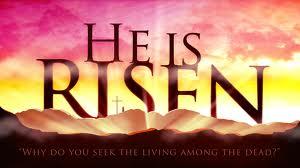 He Is Risen. Happy Easter!