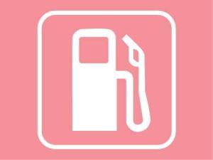 pink gas pump